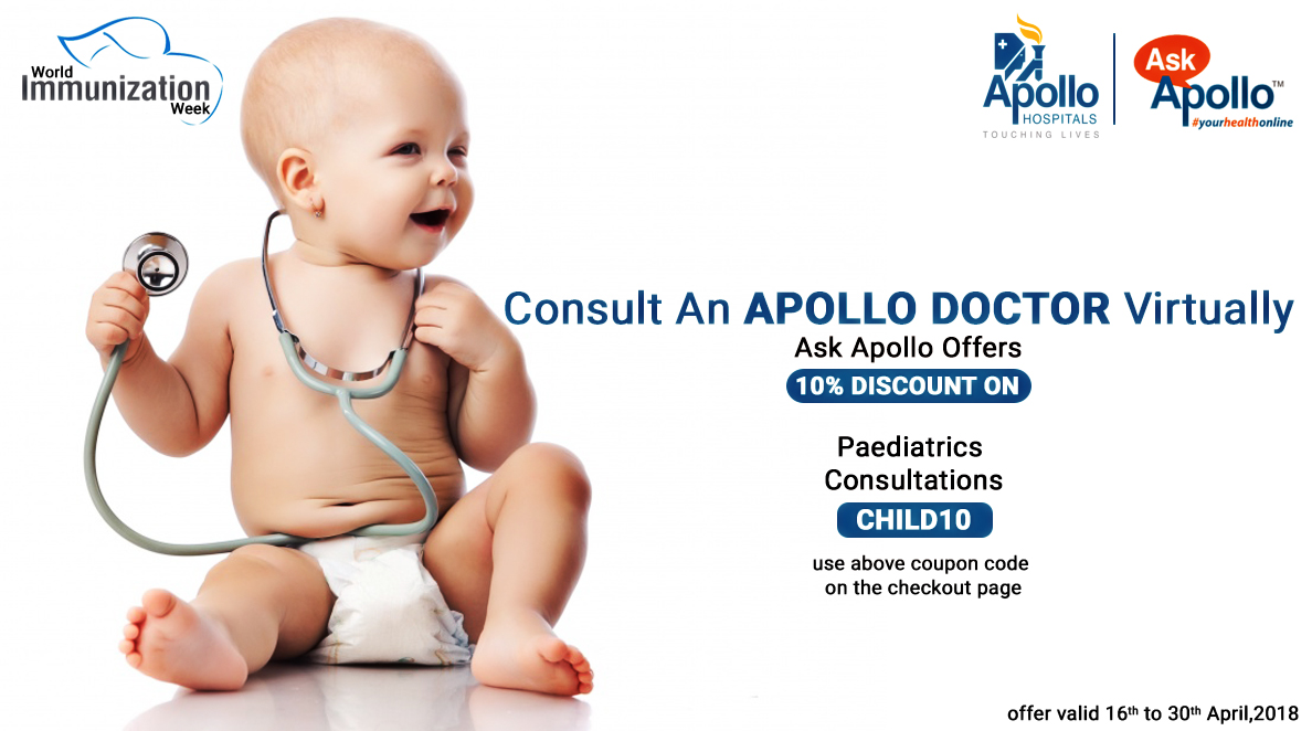 Consultation online: ask a question to the pediatrician